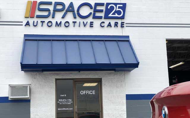 SPACE25 Automotive Care repair shop in Rialto, CA